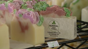 Business is bubbling for Athens soap company