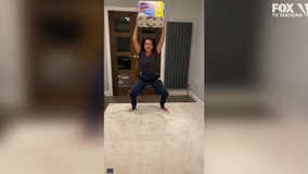 No gym? Try this woman's toilet paper workout routine