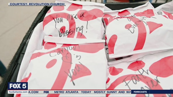 Local church members using Chick-fil-A rewards to feed healthcare professionals