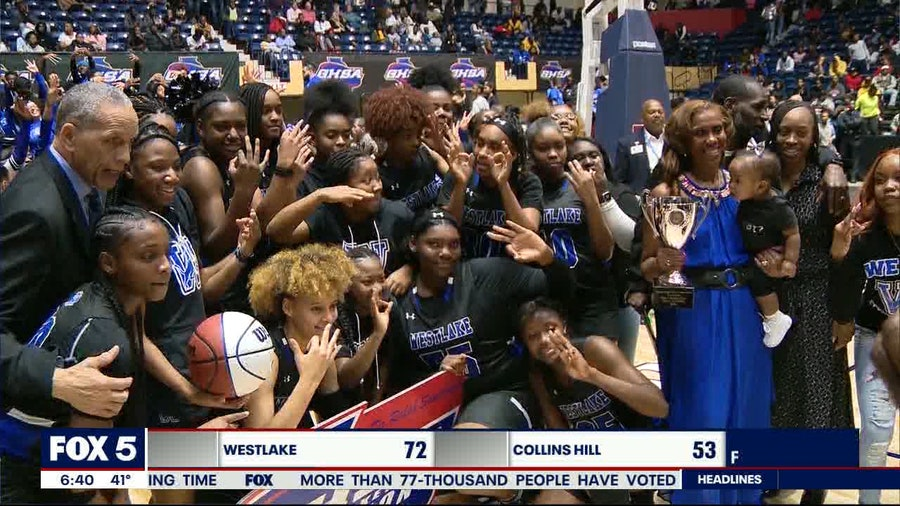 Westlake girls win third consecutive state championship