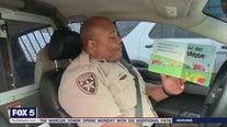 Deputies reading to kids