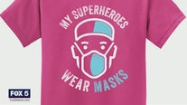 'My superheroes wear masks'