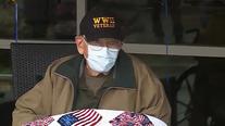 Oregon veteran survives coronavirus, celebrates 104th birthday