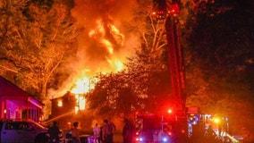 Fire destroys Coweta County family home