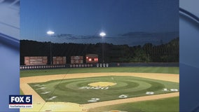 Gwinnett County high school uses stadium lights to honor Class of 2020