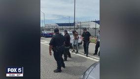 College Park police officer shot during pursuit