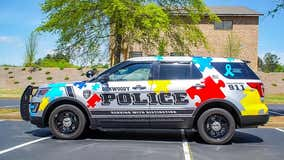 Dunwoody police mark Autism Awareness Month with special cruiser design