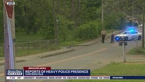 Heavy police presence in Cartersville