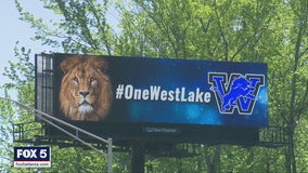 Westlake High School seniors honored with electronic billboard display