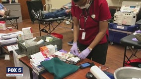 Need for blood donations