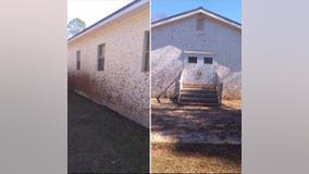 'Despicable' vandals target Jasper County church twice, sheriff says