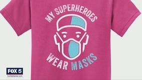 'My superheroes wear masks'