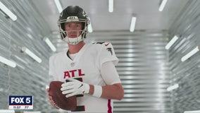 Falcons unveil redesigned uniforms
