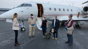EXCLUSIVE:  Sen. Loeffler flies stranded cruise passengers home to Georgia