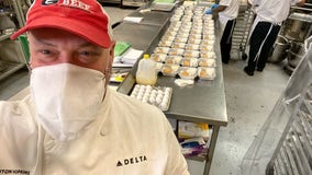 Delta donating over 200,000 pounds of food to charities during coronavirus pandemic