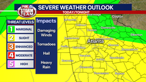 Storm Alert Day: All modes of severe weather still in play