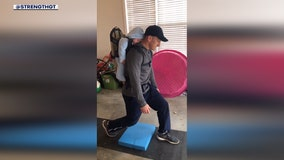 Georgia Tech strength coach works his kids into workout videos
