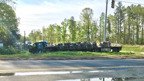 Deputies: Woman killed after SUV she was driving was struck by tractor-trailer