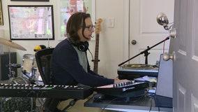 Music producer strikes a chord during coronavirus