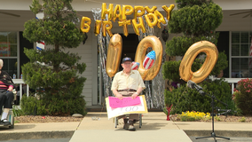 Community comes together to celebrate Calhoun resident's 100th birthday