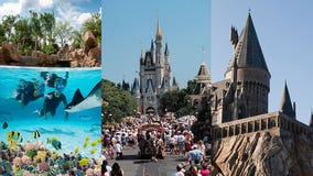 Central Florida officials discuss reopening recommendations for Disney World, Universal, other theme parks