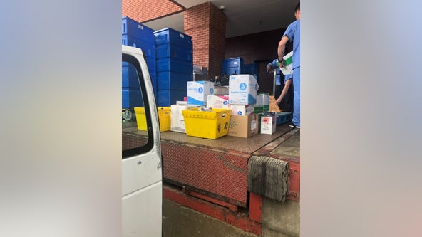 Fayette County schools donating supplies to hospital to help fight coronavirus
