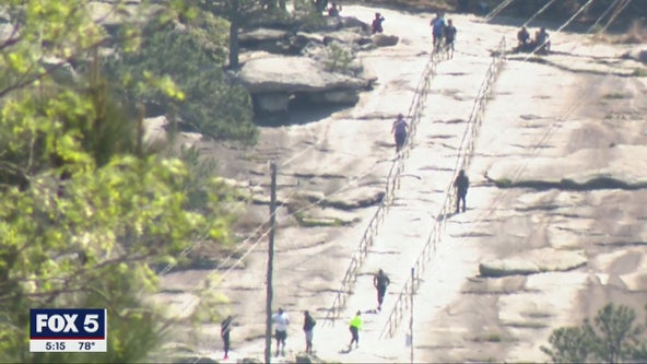 Stone Mountain Park remains open despite attractions being closed
