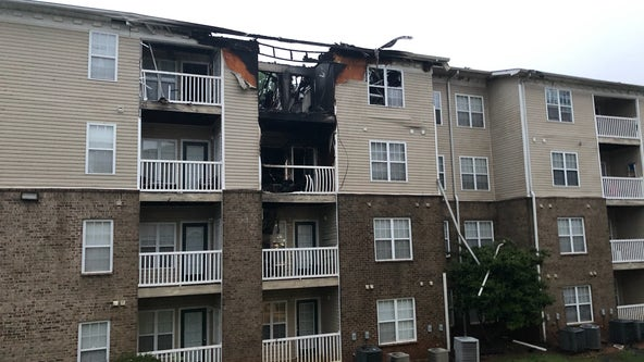 DeKalb County apartment fire leaves 26 families without a home