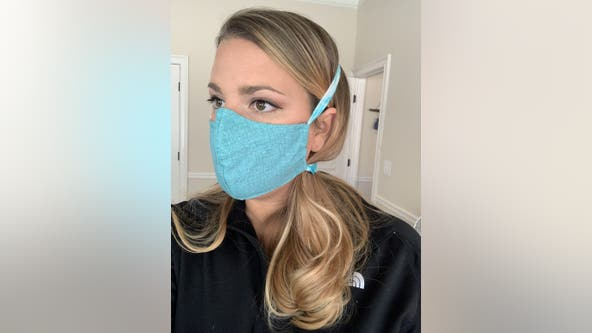 Former nurse gives tutorial on how to make face masks at home
