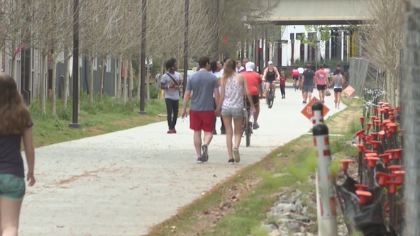 Mayor announces new restrictions for Atlanta BeltLine use
