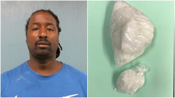 Troup County traffic stop ends in meth arrest