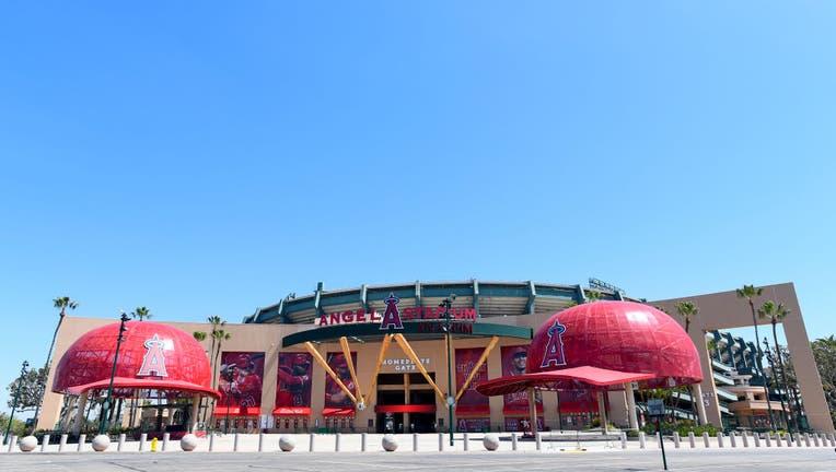 MLB: APR 24 ANGEL STADIUM
