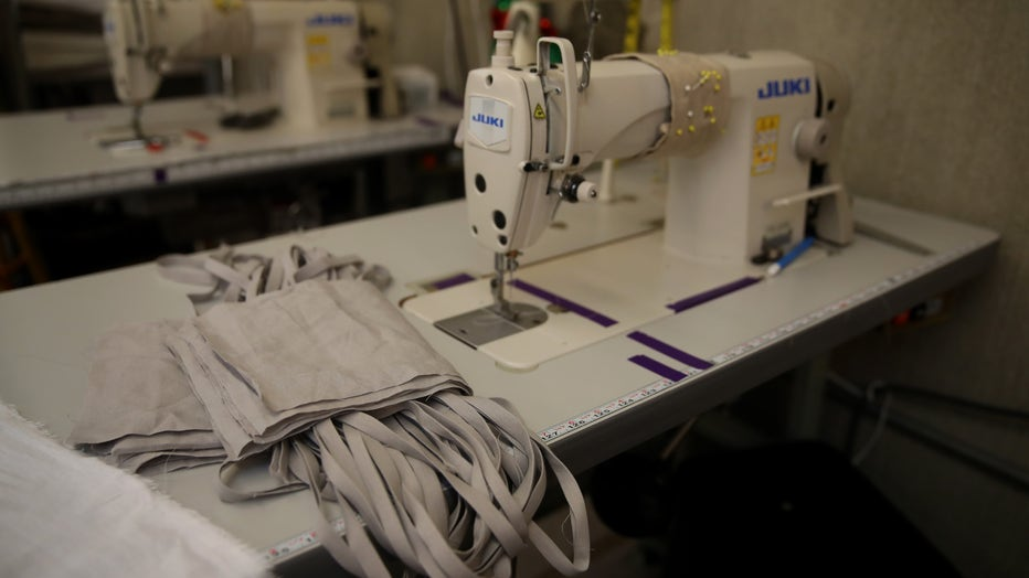 Linen Company Converts Production To Masks During COVID-19 Pandemic