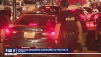 College students arrested in protests