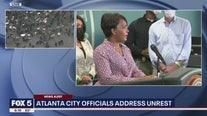 Full press conference as Atlanta officials address unrest Saturday