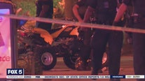 APD officer struck by ATV