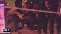 Officer struck by ATV