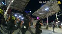 Police body camera of incident with college students clip 5