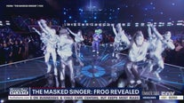 The Frog revealed on The Masked Singer
