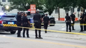 Police: Pregnant woman, 2 men injured in drive-by shooting blocks from Atlanta City Hall