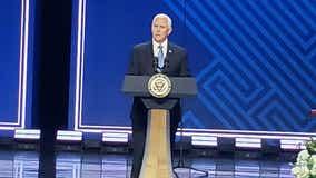 Vice President Pence attends memorial service Ravi Zacharias