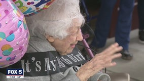 Milton woman celebrates 100th birthday with parade, proclamation