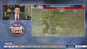 Sunday morning forecast