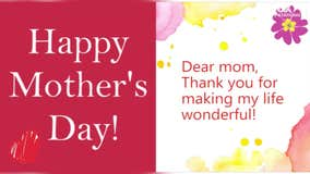 Send your mom a virtual Mother's Day message
