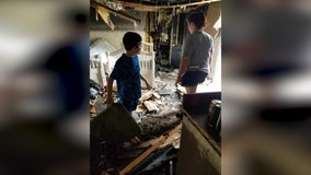 Fire destroys Gainesville family's home and belongings