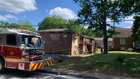Several families displaced after Forest Park apartment fire