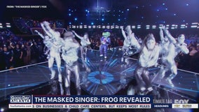 The Frog revealed on The Masked Singer