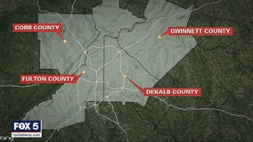 Snapshot: Coronavirus cases in metro Atlanta for Tuesday