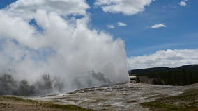 Woman falls into thermal feature at Yellowstone National Park closed due to the coronavirus