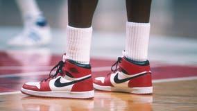 Michael Jordan-signed sneakers break record at auction
